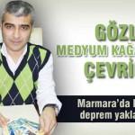 Marmara depremini 20 gün önceden bildi