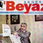 Akdeniz Beyaz Gazetesi'nde