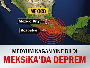 7.6 Şiddetindeki depremi bildi